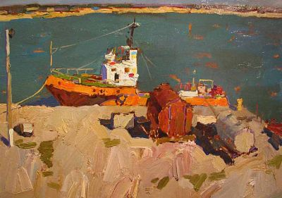 Select Sold Works: Denis Sarazhin - In the Port
