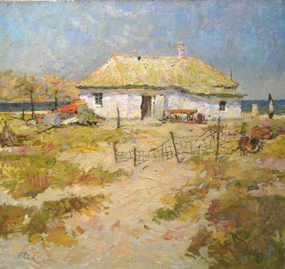Select Sold Works: Denis Sarazhin - Cottage by the Sea