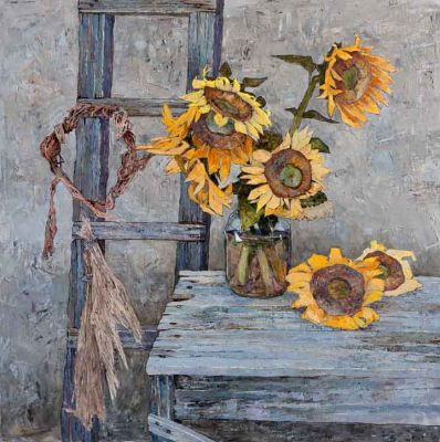 Select Sold Works: Denis Sarazhin - Sunflowers