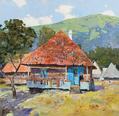 Select Sold Works: Denis Sarazhin - Carpathian House