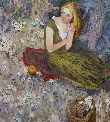 Select Sold Works: Denis Sarazhin - In the Flowers