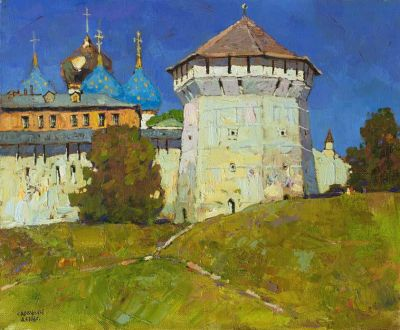 Select Sold Works: Denis Sarazhin - Sunlit Tower