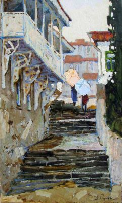 Select Sold Works: Denis Sarazhin - Stairs