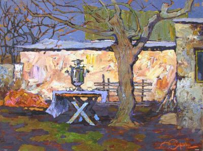 Select Sold Works: Denis Sarazhin - Along the Country Road