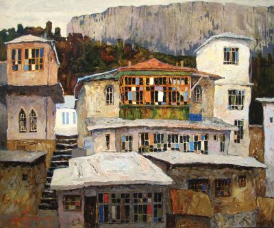 Select Sold Works: Denis Sarazhin - House by the Mountains