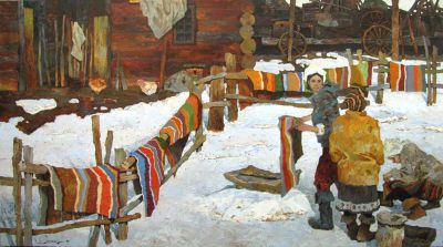 Select Sold Works: Denis Sarazhin - Soon to Be Spring