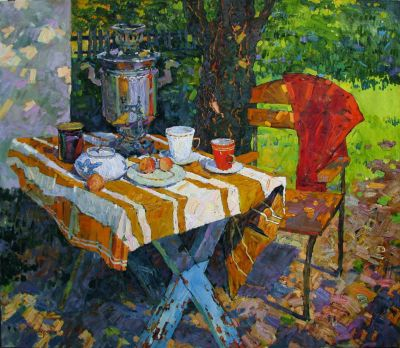 Select Sold Works: Denis Sarazhin - Sunny Day