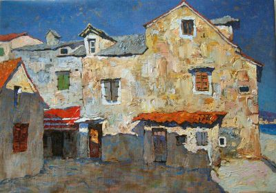 Select Sold Works: Denis Sarazhin - Old Home by the Sea