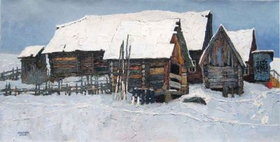 Denis Sarazhin - Old Barns