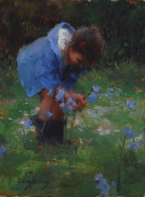 Select Sold Works: Marci Oleszkiewicz - A Gift for Mom