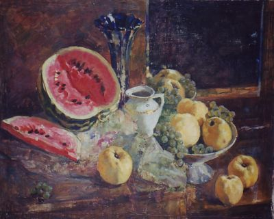 Mikhail Antonchik - Watermelon and Apples