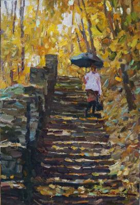 Select Sold Works: Ivan Vityuk - Immersion in the Autumn