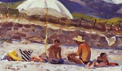 Sold Works: Ilmar Kimm - Gurzuf Beach