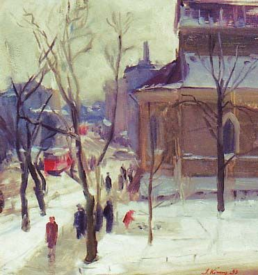 Sold Works: Ilmar Kimm - Parnu Road