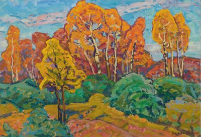 Georgi Kolosovski - Autumn Trees