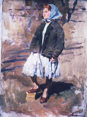 Konstantin Lomykin - Girl in Blue