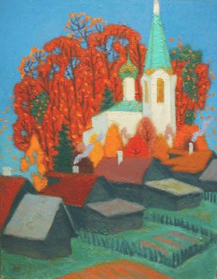 Yuri Lobachev - White Church