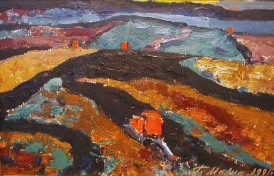 Sold Works: Gavriil Malysh - Evening in the Field