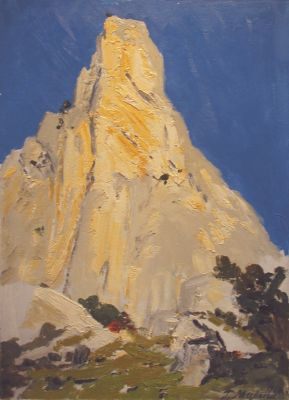 Sold Works: Gavriil Malysh - Rock by the Sea