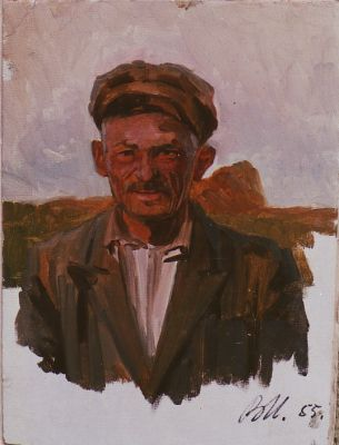 Sold Works: Vladimir Masik - Collective Farmer