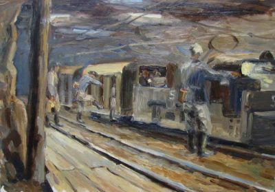 Konstantin Mikhailov - Electric Train, 1965