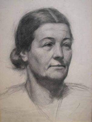 Works on Paper - Sketch of a Woman