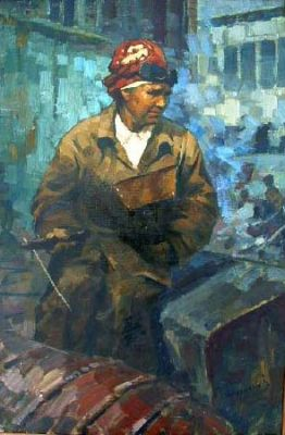 Sold Works: Boris Spornikov - Worker