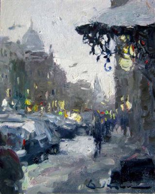Select Sold Works: Ivan Vityuk - Silver of a Winter Day