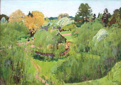 Sold Works: Nikolai Timkov - The Academic Dacha