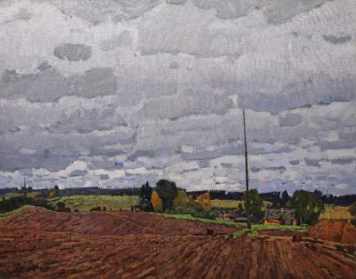 Sold Works: Nikolai Timkov - Field, 1972