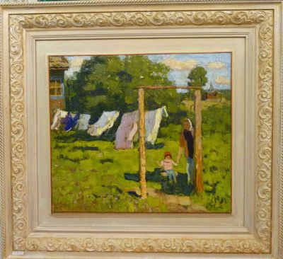 A & S Tkachev - Swing in the Garden