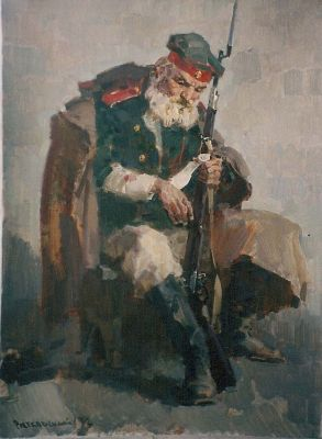 Lev Vitkovsky - Old Soldier