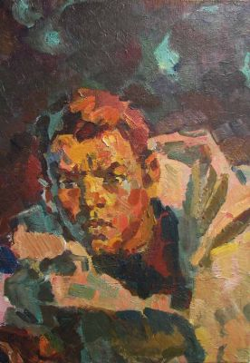 Lev Vitkovsky - Study for