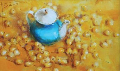 Yana Golubyatnikova - Yellow Cherries
