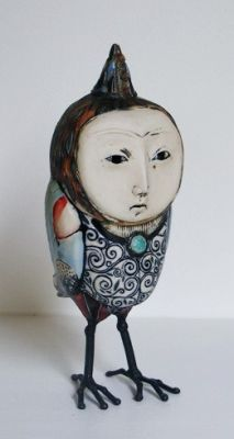 Select Sold Works: Gumaelius - Owl with Small Party Hat