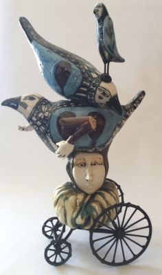Select Sold Works: Gumaelius - Winged Hat