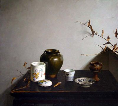 Sun Jun - Still Life under the Window Sill