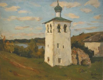 Boris Lavrenko - Belltower in Malakh, 1974