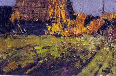 Sold Works: Nikolai Timkov - Birch Trees