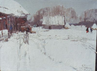 Sold Works: Nikolai Timkov - Gift to Sasha
