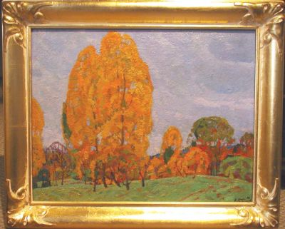 Sold Works: Nikolai Timkov - Autumn