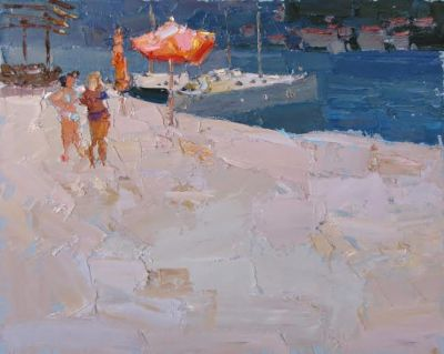 Select Sold Works: Daniil Volkov - On the Beach