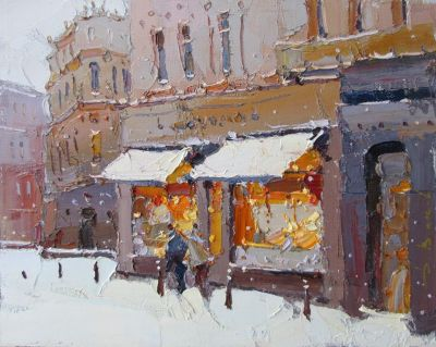 Select Sold Works: Daniil Volkov - At the Window