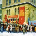Sold Works: Boris Spornikov - Celebrations of the Arsenal Factory